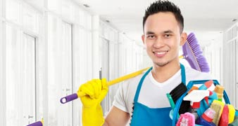 Blackwall commercial cleaning E14