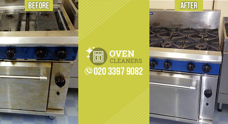 London Smeg Cooker Cleaning