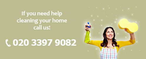 Dial 020 3397 9082 and take advantage of our exceptional value for money cleaning services