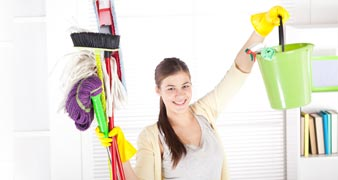 KT22 professional carpet cleaners Leatherhead