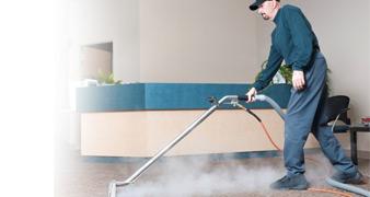 W14 steam clean sofa Barons Court